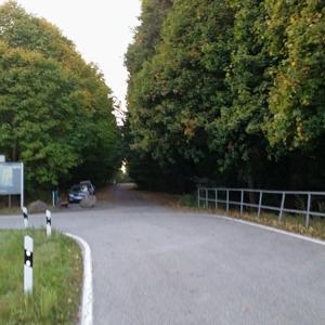 Parkplatz in Rabensteinfeld