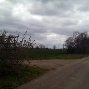 Am Windpark Spergau