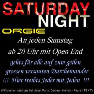 Private Samstag-Nacht-HÜ-Orgie