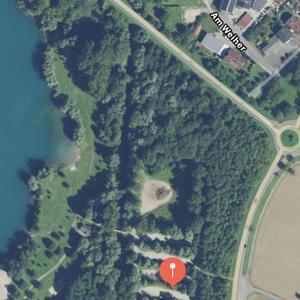 Baggersee Wintersdorf Parkplatz